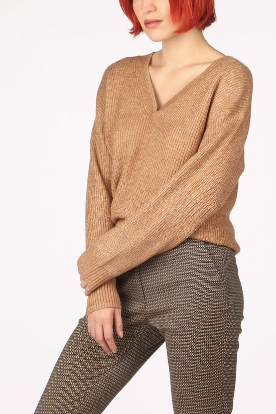Tom Tailor Pullover 1022084 Camel Brown
