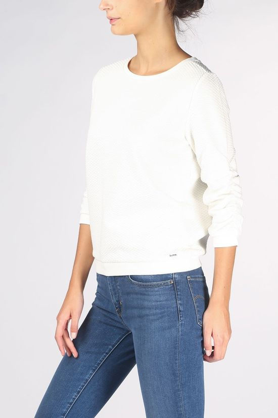 Tom Tailor Pullover 1021114 off white