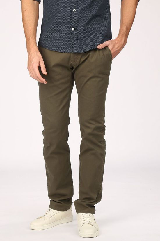 Tom Tailor Pantalon 1021915 Kaki Moyen