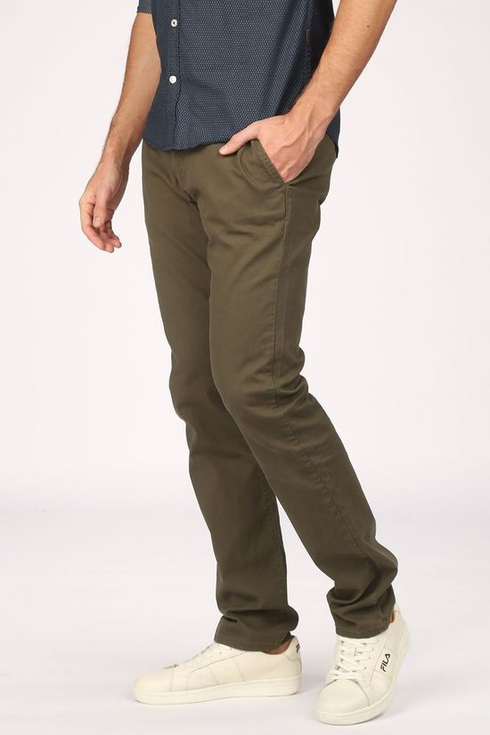 Tom Tailor Trousers 1021915 mid khaki