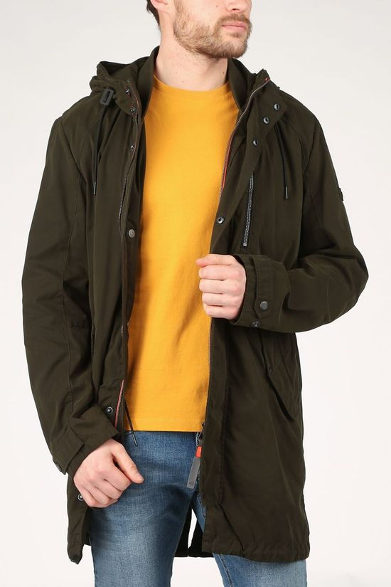 camel active Coat 410200-5R40 dark khaki