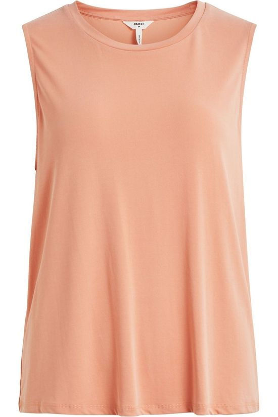 Object T-Shirt Objannie Sl Rose Saumon