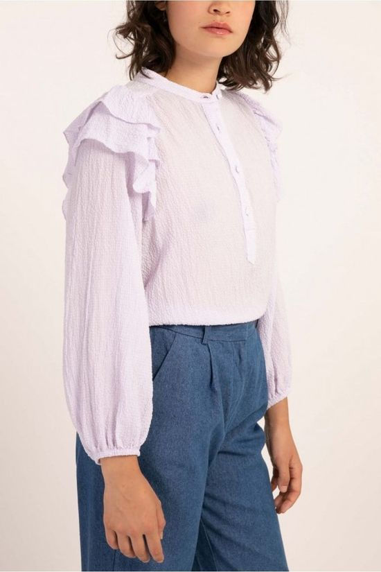 FRNCH Blouse Charme Pourpre Clair