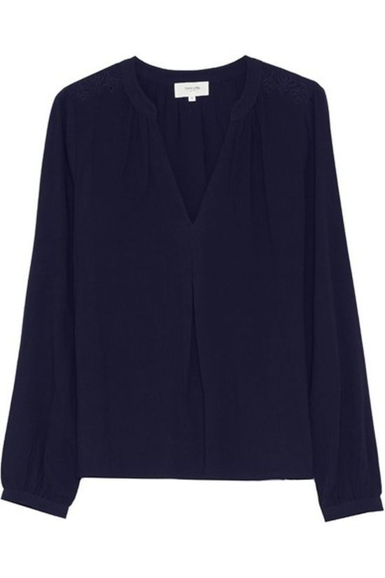 Grace&Mila Blouse Bulgary Marineblauw