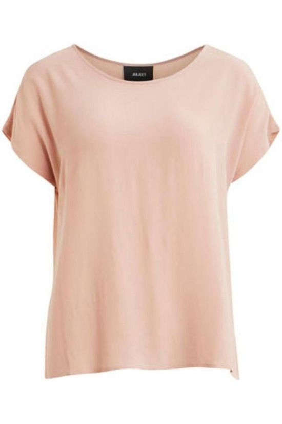 Object Blouse Bay Ss Urban Rose Clair