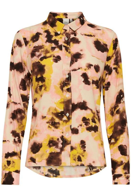 Ichi Shirt Ihvauna Sh light pink/yellow