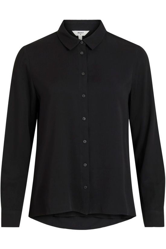 Object Shirt Baya Ls Shirt Noos black