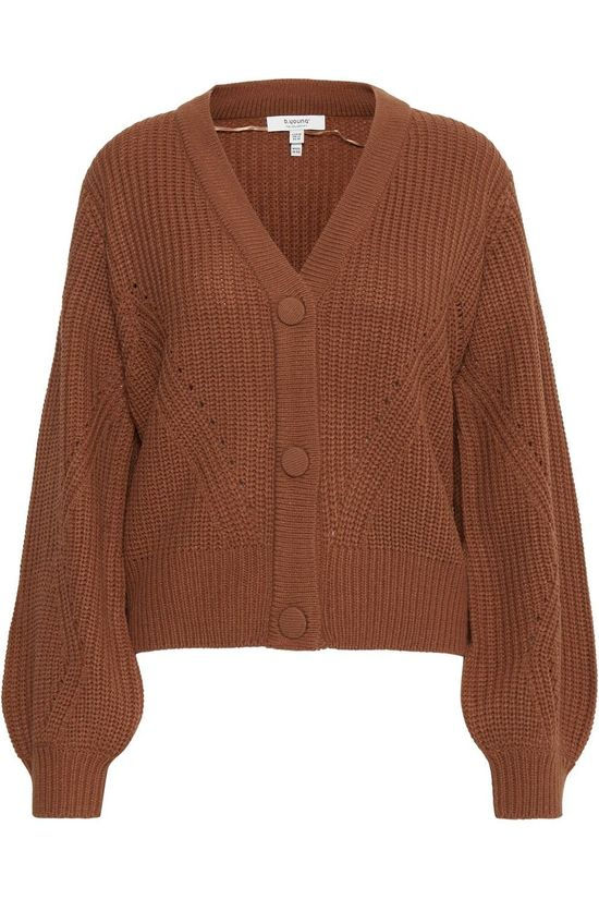 B.Young Cardigan Bymelissa Rouille