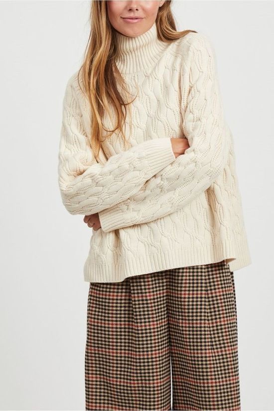 Object Cardigan corina L/S off white