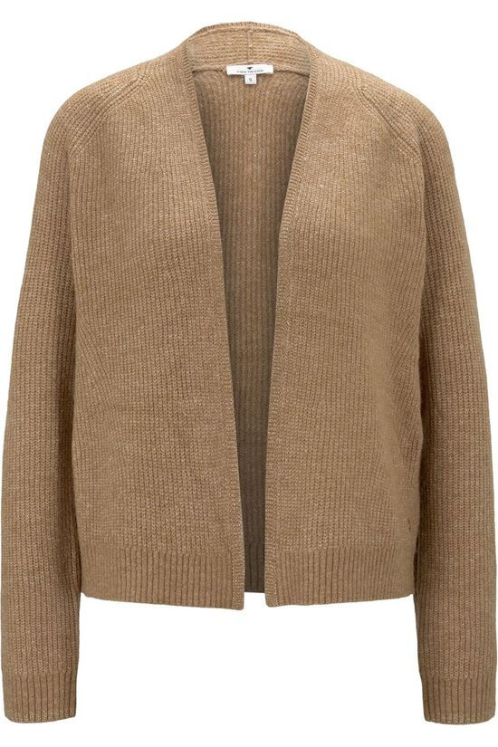 Tom Tailor Cardigan 1022085 Kameelbruin