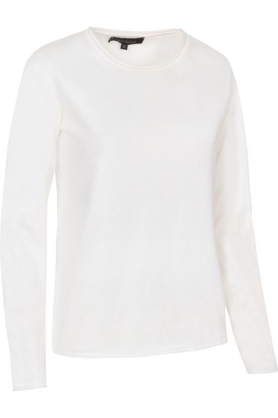 Soft Rebels Zara Oneck Knit Blanc Cassé