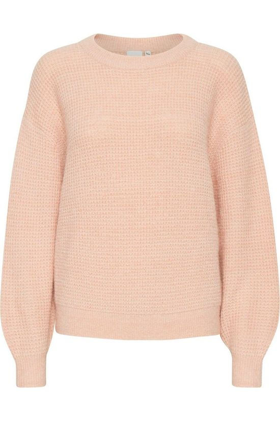 Ichi Pullover Ihdusty Ls5 light pink