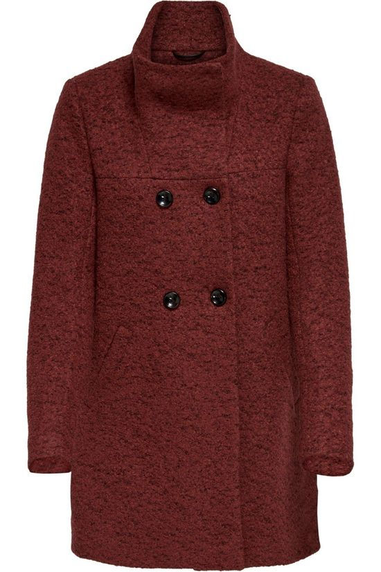 Only Coat newsophia Wool rust