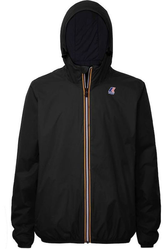 K-Way Manteau Le Vrai 3.0 Claude Warm Noir