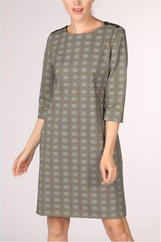 Vila Joy Dress Abba-L-53-B light brown/dark brown