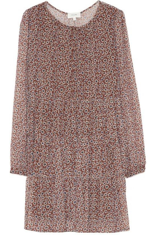 Grace&Mila Dress Bourbon Brown/Ecru