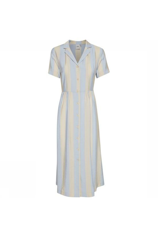 Ichi Dress Ihtiffany Dr2 light blue/off white