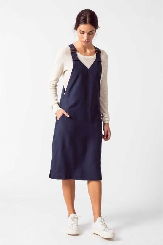 SKFK Dress Wdr00878 Navy Blue
