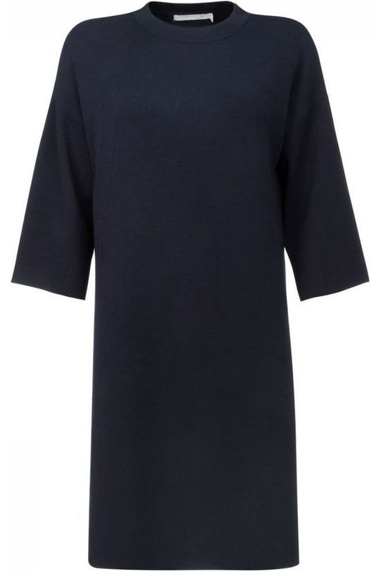 Yaya Dress Oversized dark blue