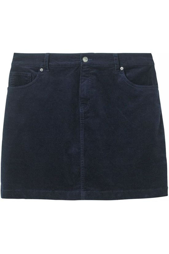 White Stuff Skirt Sycamore Cord Mini dark blue