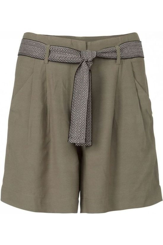 Yaya Short Linen Basis Lichtkaki