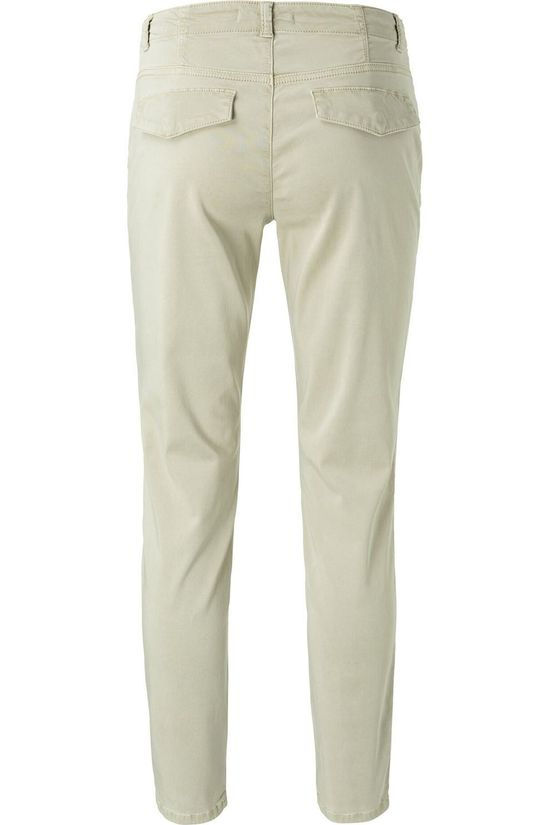 Yaya Broek Skinny Worker With Stretch Lichtgroen
