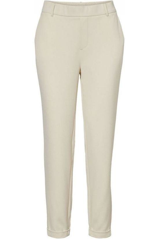 Vero Moda Trousers Maya Loose Solid off white