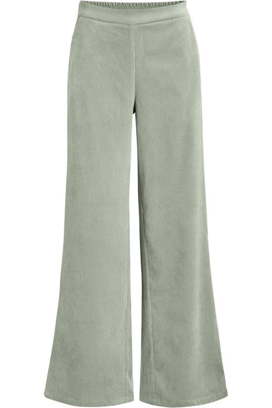 Object Trousers  Sibil Elva Wide light green