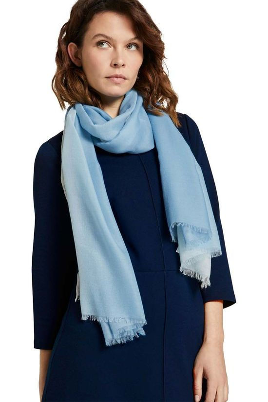 Tom Tailor Scarf 1024595 light blue/white
