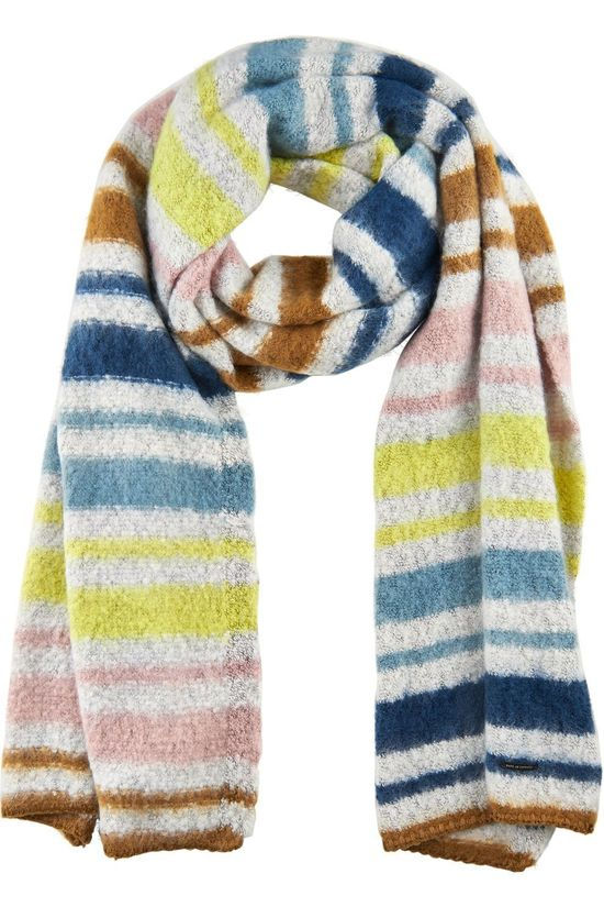 Numph Scarf bmalaya Off White/Assorted / Mixed