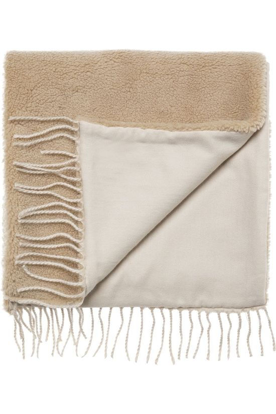 Yaya Scarf Lammy Scarf Sand Brown
