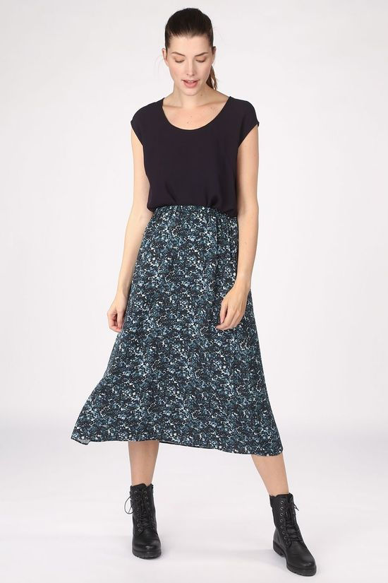 ARMEDANGELS Skirt Kataa Heather dark green/light green