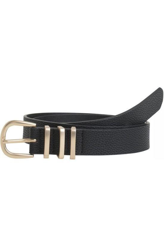 Pieces Belt lea Jeans Nos black/gold
