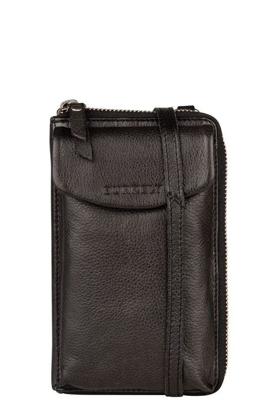 Burkely Tas Just Jackie Phone Wallet Zwart