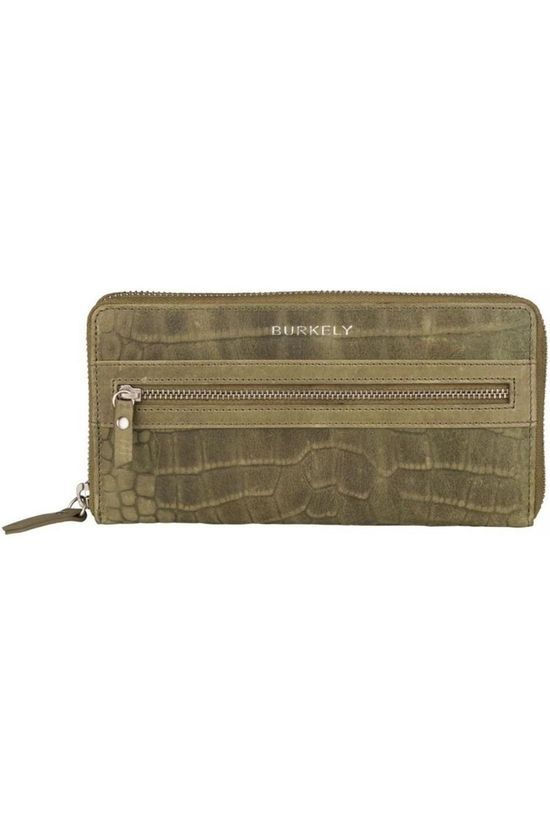 Burkely Wallet Croco Cody L dark green