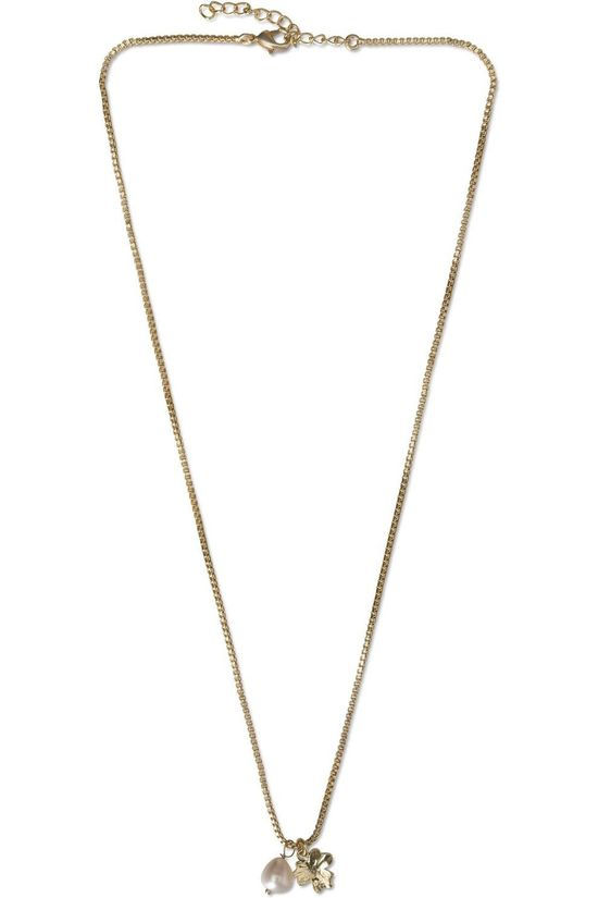 Yaya Ketting Necklace With Charm Goud