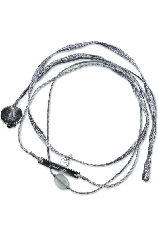 Yaya Armband Braided Charms Zilver