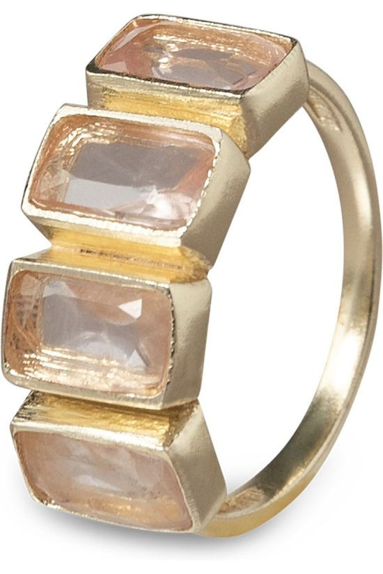 Yaya Anneau Ring With Four Stones Or