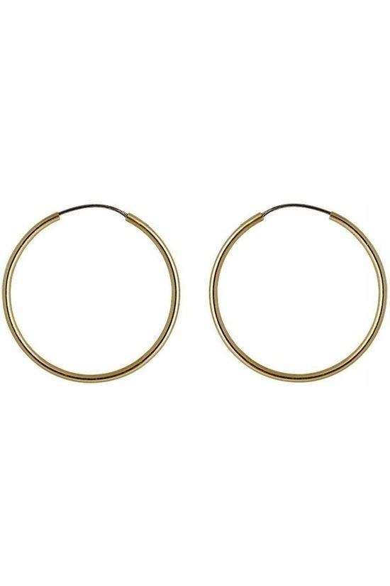 Pilgrim Earring Sanne Dia 24 Mm Gold Plated gold