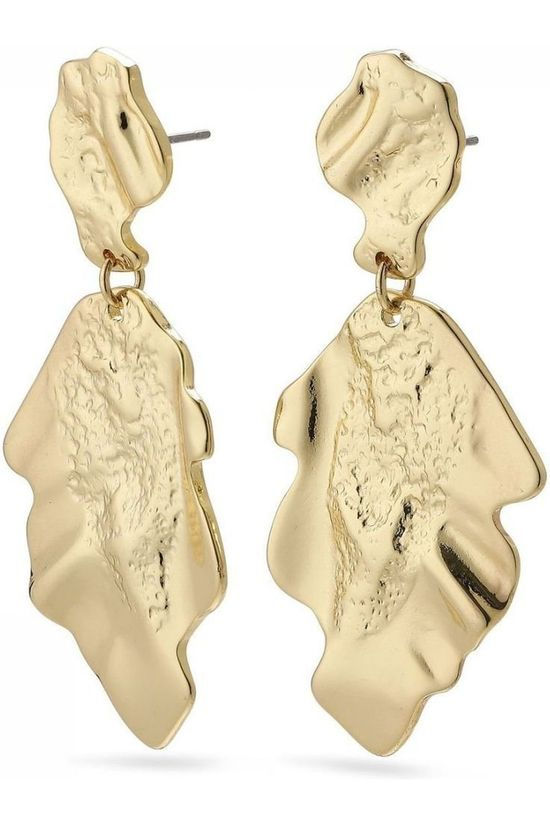 Pilgrim Earring Valkyria Gold Plated gold