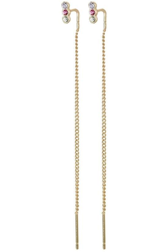 Pilgrim Boucle D'Oreille Titiana Gold Plated Or/Assorti / Mixte
