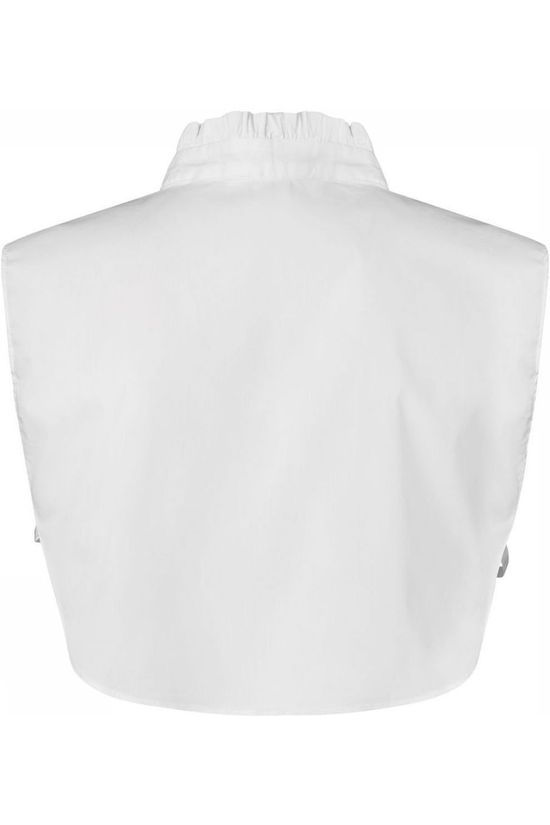 Yaya Diverse Blouse Collar Victiorian Ruffle Neck Wit