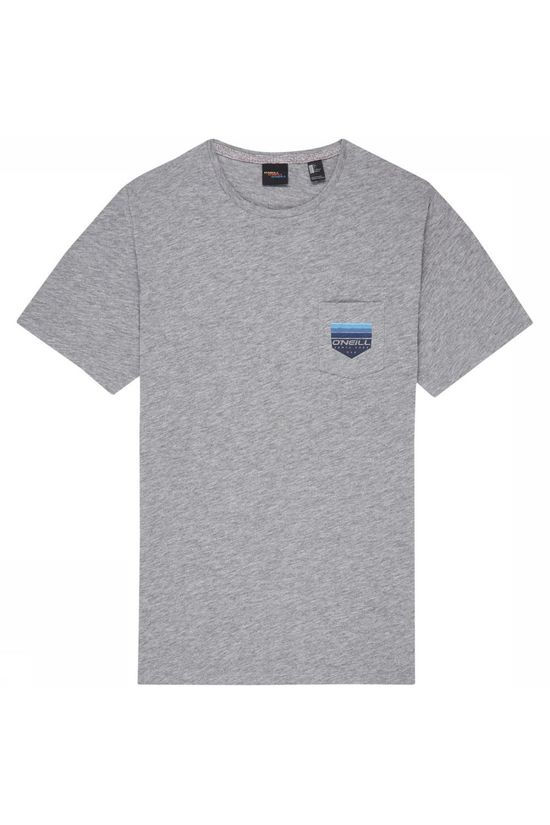 O'Neill T-Shirt Lm Gradient Pocket Gris Clair