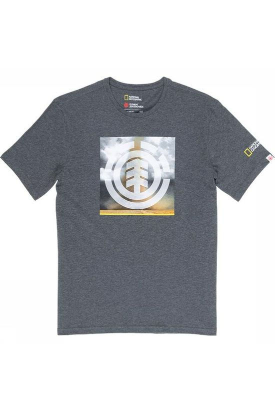 Element T-Shirt Combust Ng Dark Grey Marle