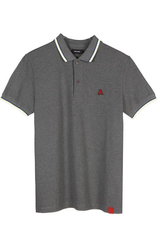 Antwrp Polo 2002-Bpo004 Dark Grey Marle