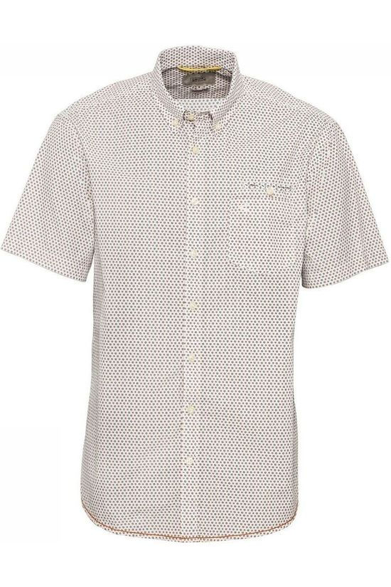 Camel Active Shirt 4092243S35 White/Ass. Geometric