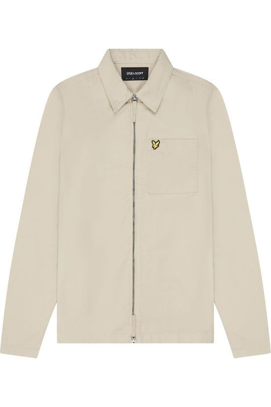 Lyle & Scott Overshirt Lw1409 Sand Brown