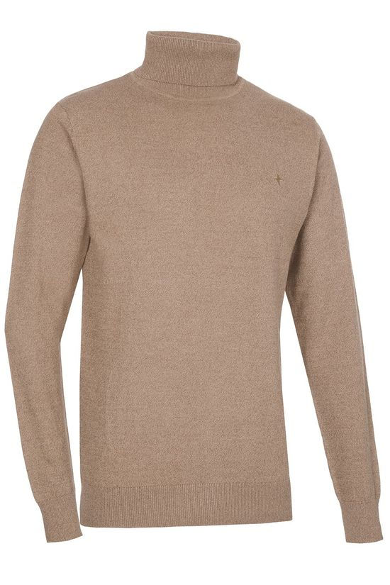 Haze & Finn Pullover Mc14-0221-1 Sand Brown