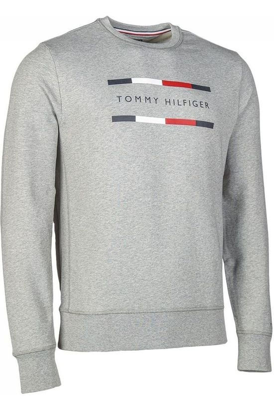 Tommy Hilfiger Pull Wcc Light Weight Gris Clair Mélange