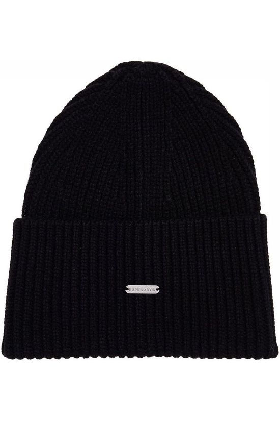 Superdry Bonnet Edit Beanie Noir